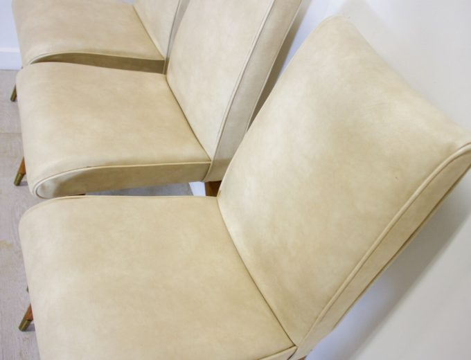 Mid Century Retro Maple and Co Dining Chairs G W Evans 2