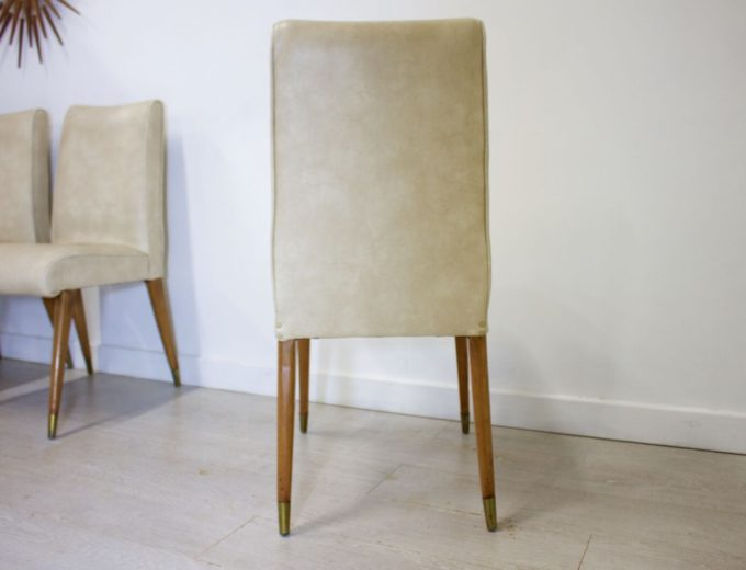 Mid Century Retro Maple and Co Dining Chairs G W Evans 3