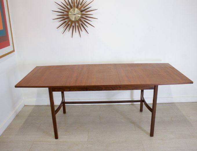Mid Century Teak Extending Dining Table 2