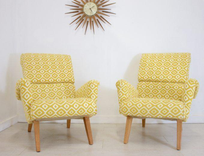 Mid Century Retro G Plan Hammock 6006 Armchair (2 Available) REF#0050 5