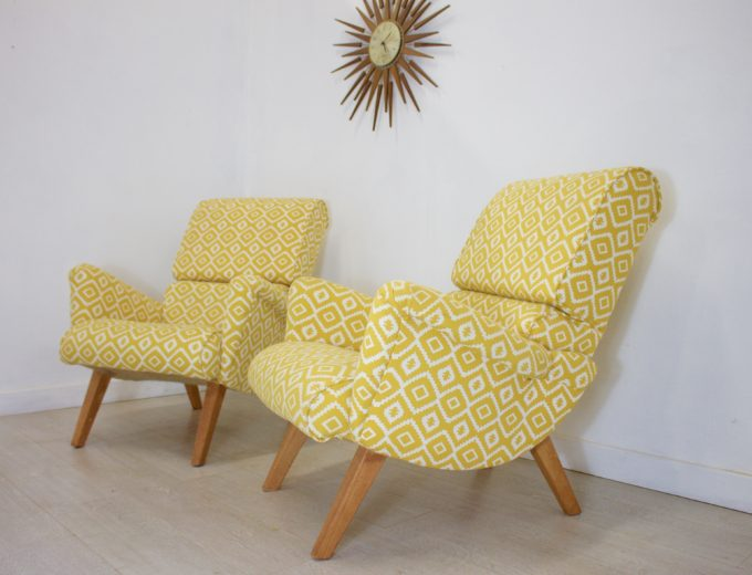 Mid Century Retro G Plan Hammock 6006 Armchair (2 Available) REF#0050 6