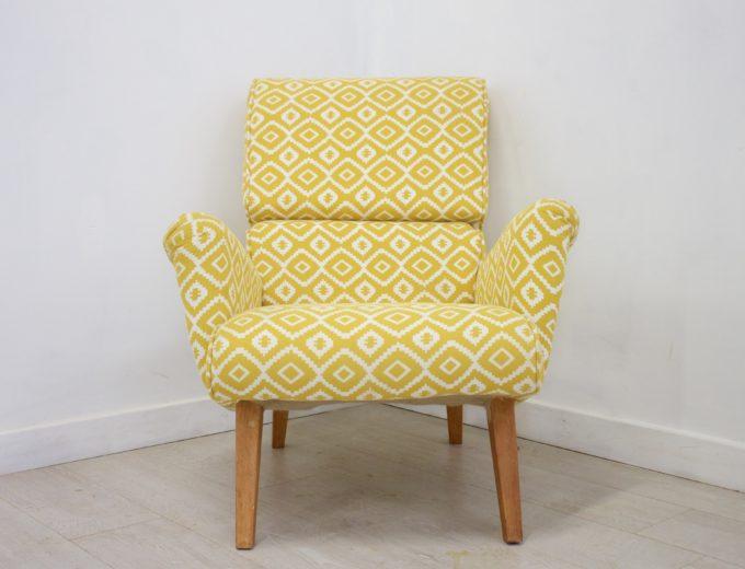 Mid Century Retro G Plan Hammock 6006 Armchair (2 Available) REF#0050 0