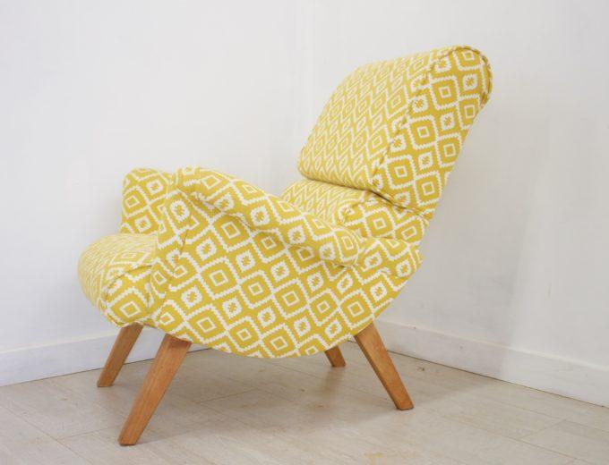 Mid Century Retro G Plan Hammock 6006 Armchair (2 Available) REF#0050 1