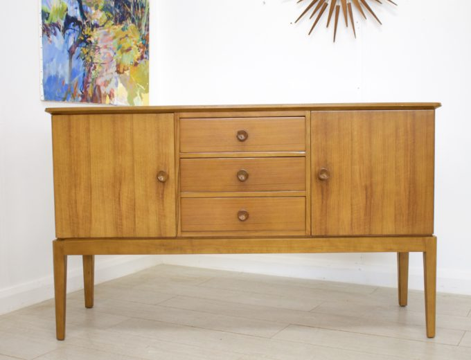 Mid Century Retro Vintage Walnut Sideboard by Gordon Russell #0271 0