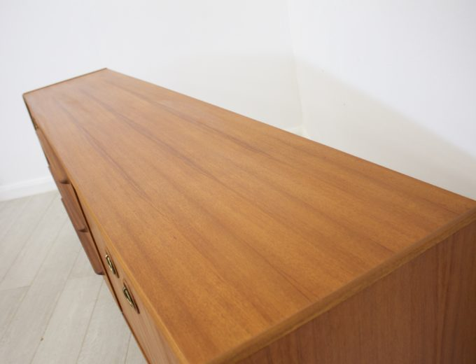 Mid Century Retro Teak Sideboard by McIntosh #0261 3