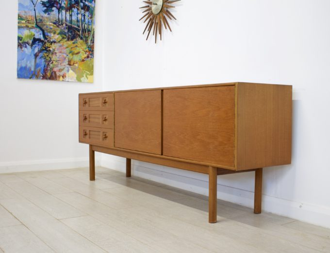 Mid Century Retro Teak Sideboard by McIntosh #0287 1