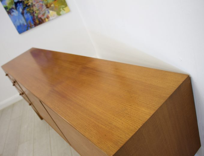 Mid Century Retro Teak Sideboard by McIntosh #0287 4