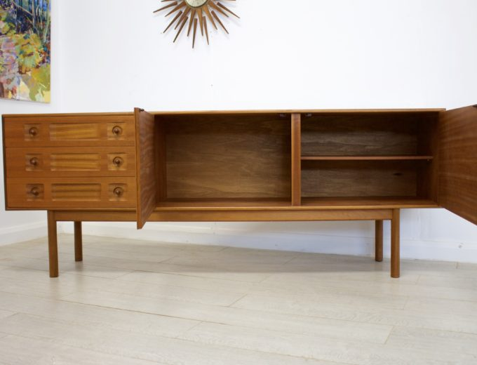 Mid Century Retro Teak Sideboard by McIntosh #0287 9
