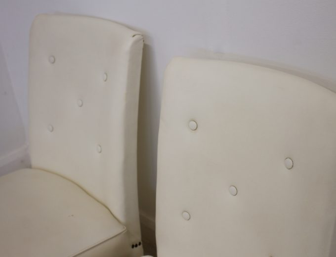 Vintage Art Deco Pair Bedroom / Cocktail Chairs 3