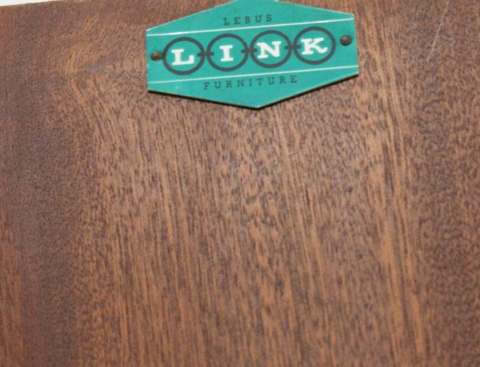 Mid Century Teak & Limed Oak Effect Lebus Wardrobe Atomic Range #0315 5