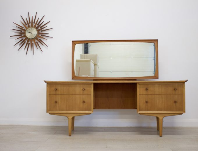 Mid Century Retro Teak & Walnut Gimson & Slater Dressing Table #0318 0