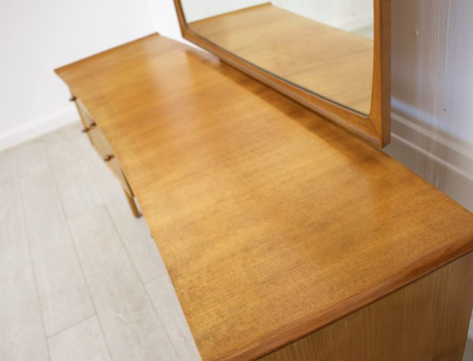 Mid Century Retro Teak & Walnut Gimson & Slater Dressing Table #0318 3