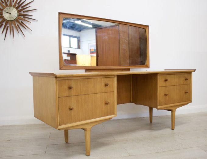 Mid Century Retro Teak & Walnut Gimson & Slater Dressing Table #0318 4