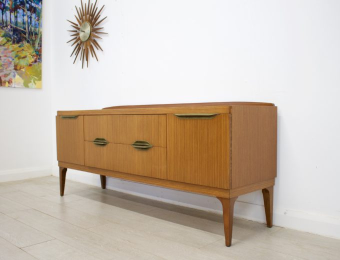 Mid Century Retro Teak Sideboard by Remploy #0324 1