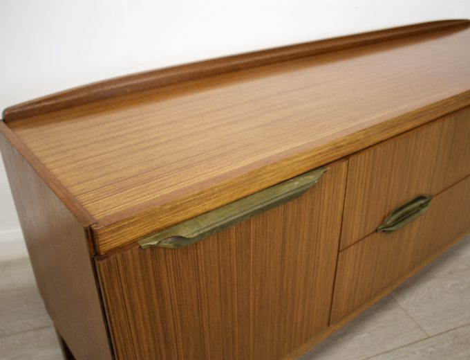 Mid Century Retro Teak Sideboard by Remploy #0324 3