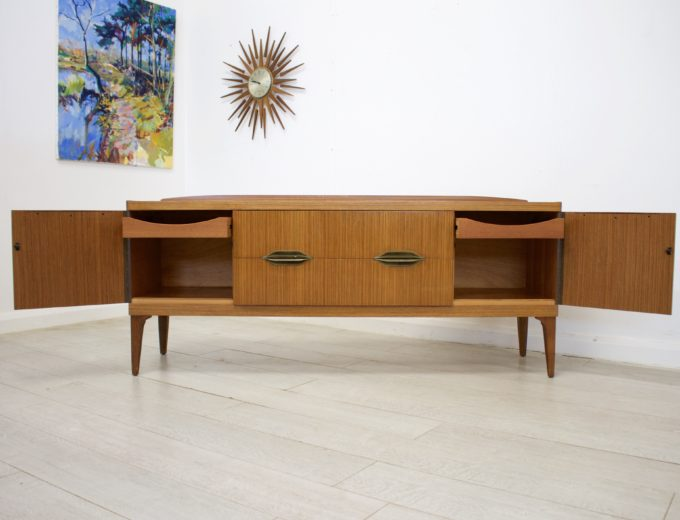 Mid Century Retro Teak Sideboard by Remploy #0324 5
