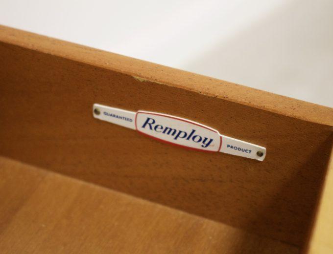 Mid Century Retro Oak Compact Sideboard #0326 5
