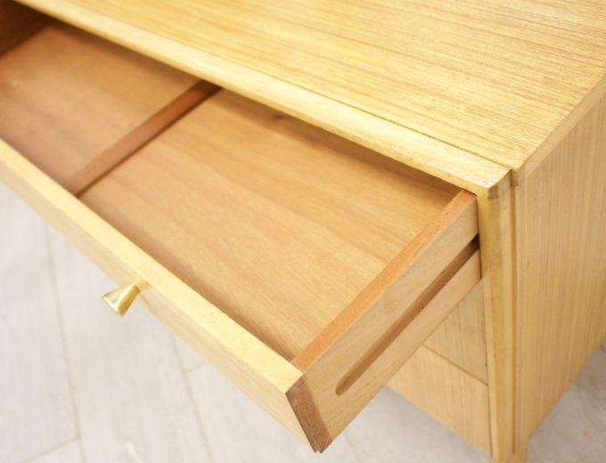 Mid Century Retro Oak Compact Sideboard #0326 6