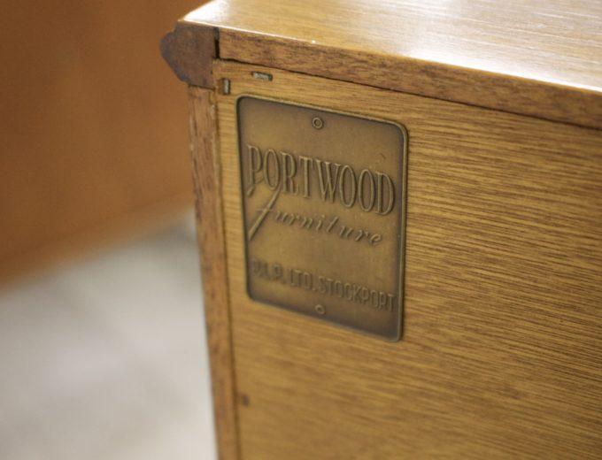 Mid Century Retro Teak Sideboard by Portwood #338 6