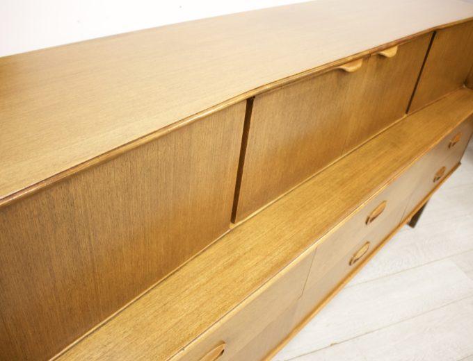 Mid Century Retro Teak Sideboard by Portwood #338 8
