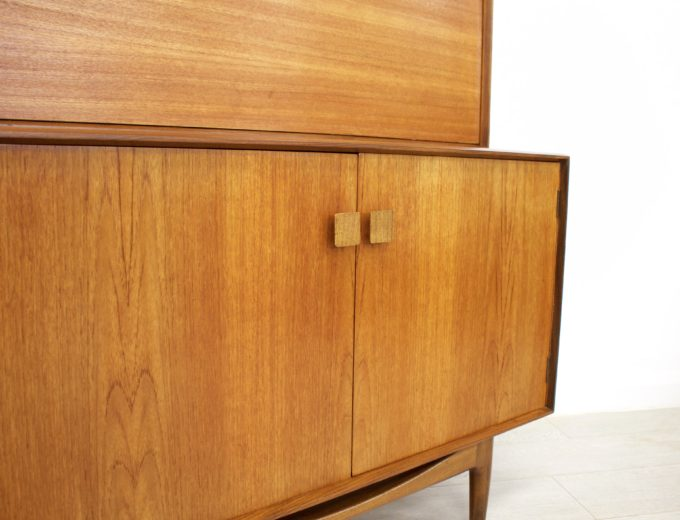 Mid Century Retro Teak Drinks Cabinet Kofod Larsen for G Plan #0353 3