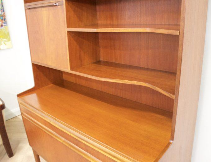 Mid Century Retro Teak McIntosh Drinks Cabinet Highboard Sideboard #0400 4