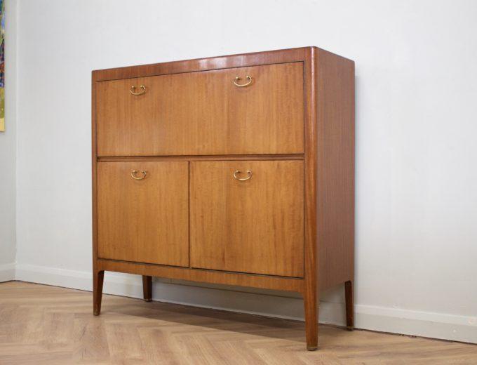 Mid Century 50s Mahogany Drinks Cabinet / Bureau Greaves and Thomas #0415 4