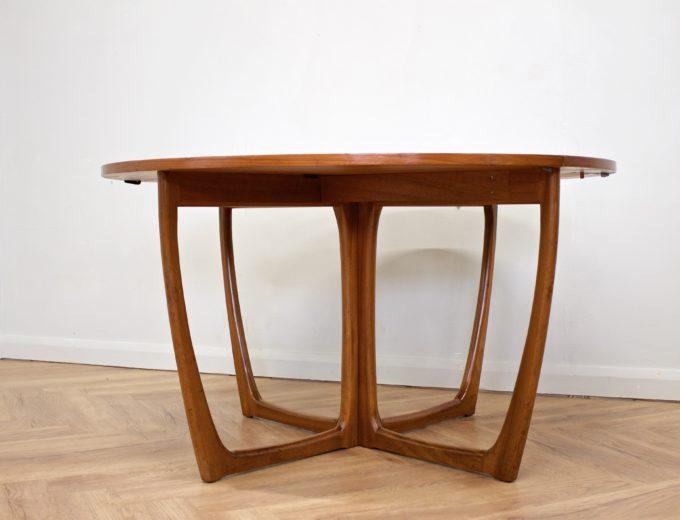 Mid Century Teak Danish Drop Leaf Dining Table #0461 1
