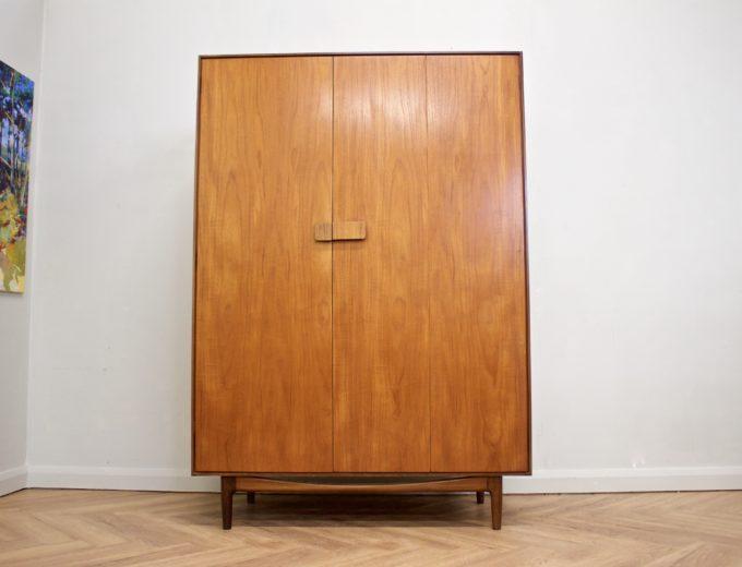 ****ON HOLD****Mid Century Retro Teak Ladies Wardrobe by G Plan Kofod Larsen Danish #0467 0