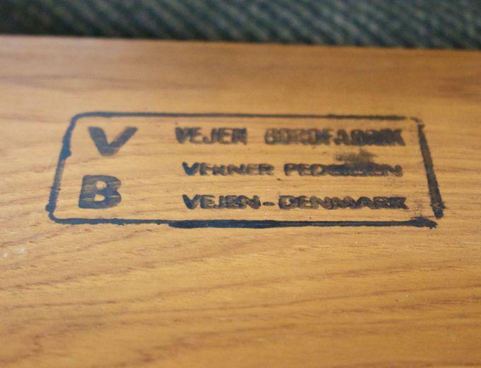 Mid Century Retro Teak Danish Teak Nest of Tables Pedersen for Vejen #0482 6