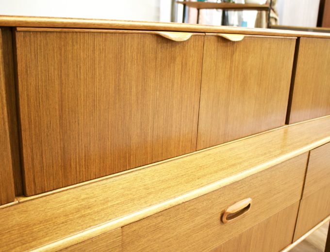 Mid Century Retro Teak Sideboard by Portwood #0470 8