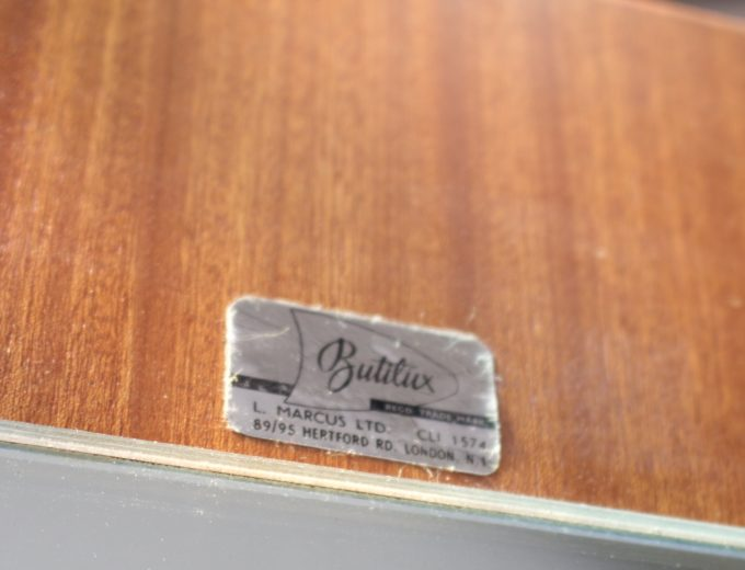 Mid Century Retro Teak Ladies Wardrobe by Butilux #0486 4