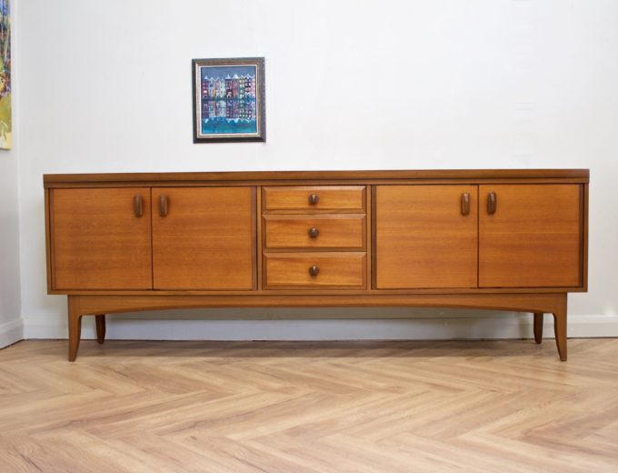 Mid Century Retro Teak Sideboard from Greaves and Thomas #0489 1