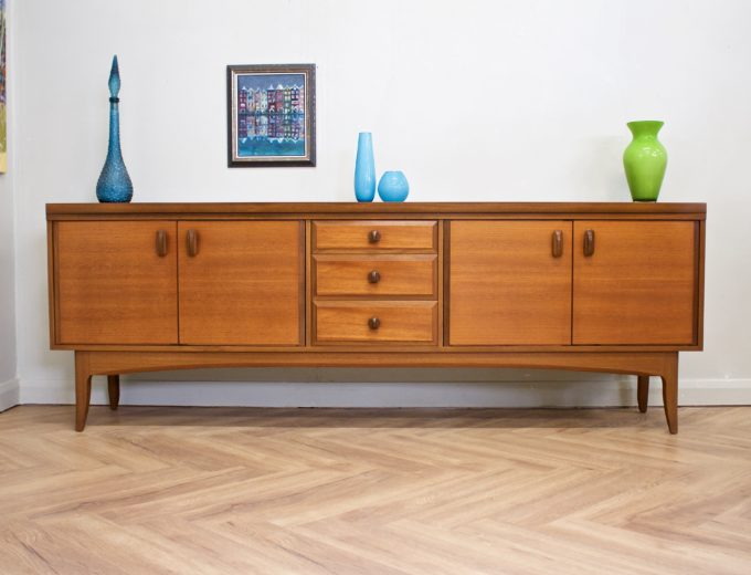 Mid Century Retro Teak Sideboard from Greaves and Thomas #0489 0