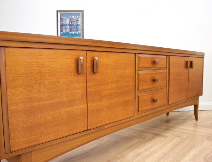 Mid Century Retro Teak Sideboard from Greaves and Thomas #0489 4