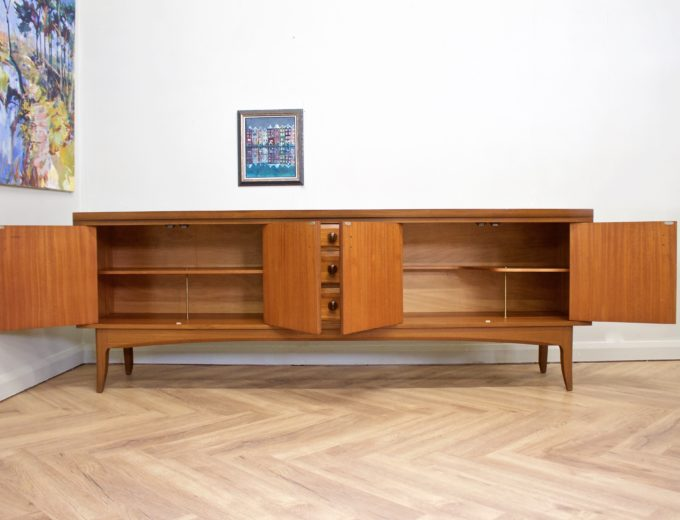 Mid Century Retro Teak Sideboard from Greaves and Thomas #0489 6