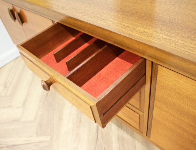 Mid Century Retro Teak Sideboard from Greaves and Thomas #0489 7