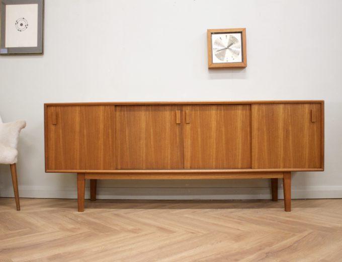 Mid Century Retro Danish Teak Sideboard #0501 2