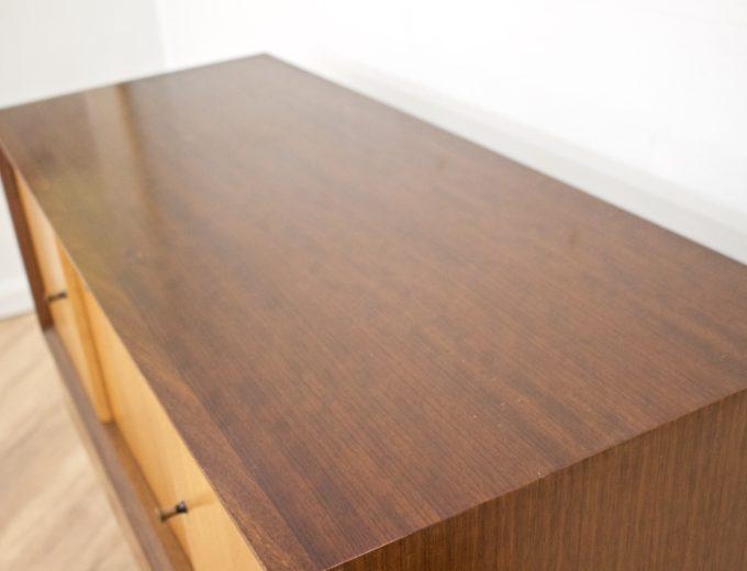 Mid Century Retro Teak & Oak Drinks Cabinet / Sideboard from Beautility #0505 3