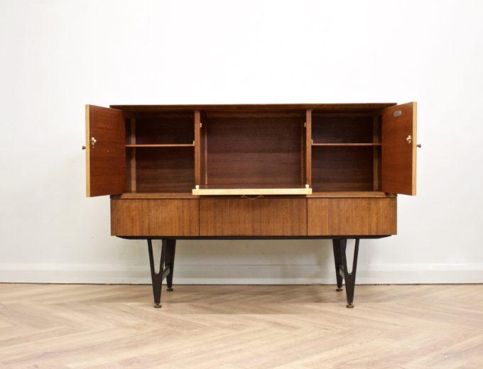 Mid Century Retro Teak & Oak Drinks Cabinet / Sideboard from Beautility #0505 6