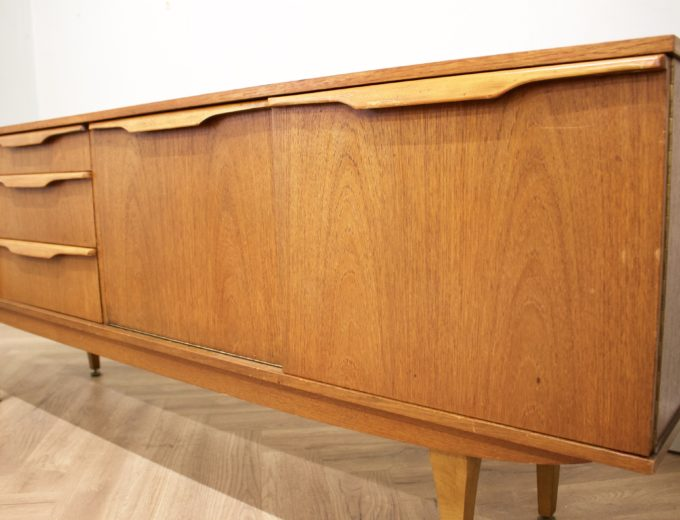 Mid Century Retro Teak Sideboard by Stonehill #0514 2