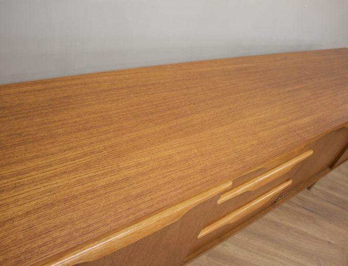 Mid Century Retro Teak Sideboard by Stonehill #0514 8