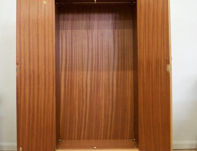 Mid Century Oak Wardrobe from Meredew #0530 5