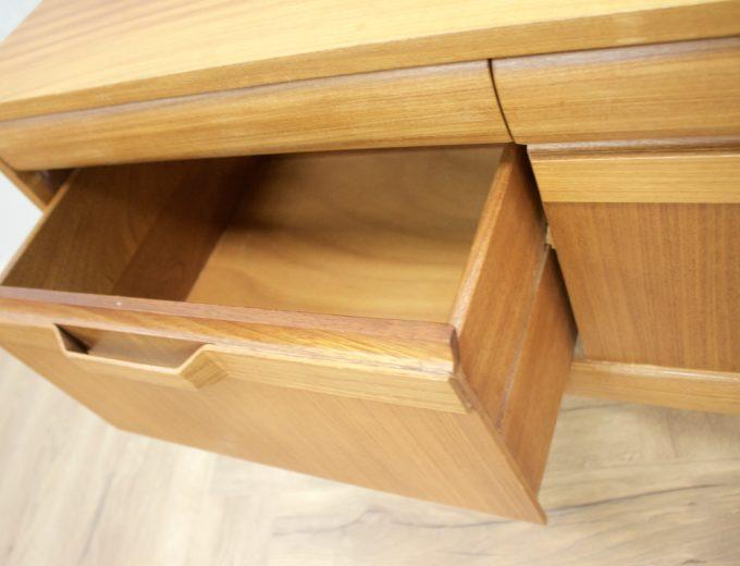 Mid Century Retro Teak Compact Sideboard or Dresser #0528 5