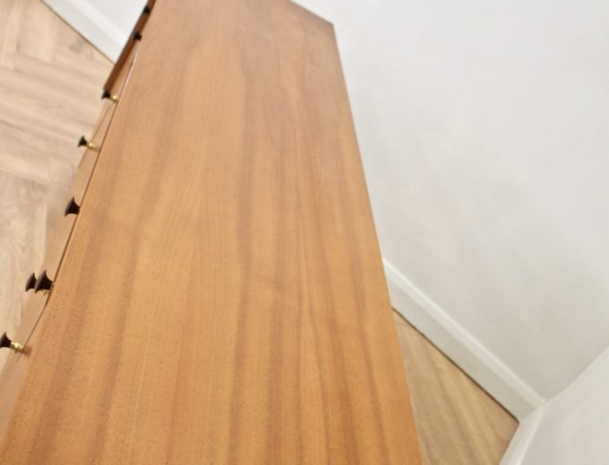 Mid Century Walnut Compact Sideboard G Plan #0529 5