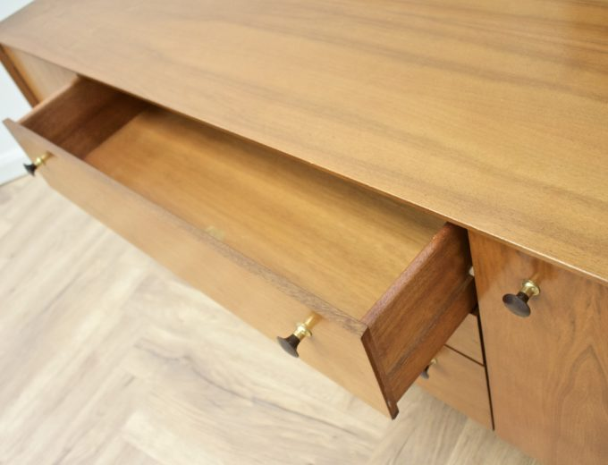 Mid Century Walnut Compact Sideboard G Plan #0529 3