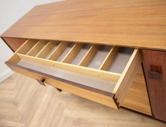 Mid Century Teak Sideboard by Kofod Larsen for G Plan #0537 8