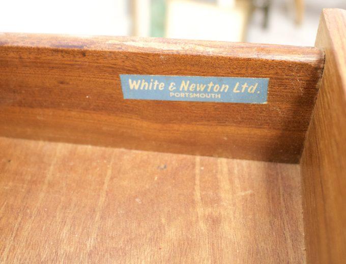 Mid Century Retro Teak Sideboard by White & Newton #0539 7